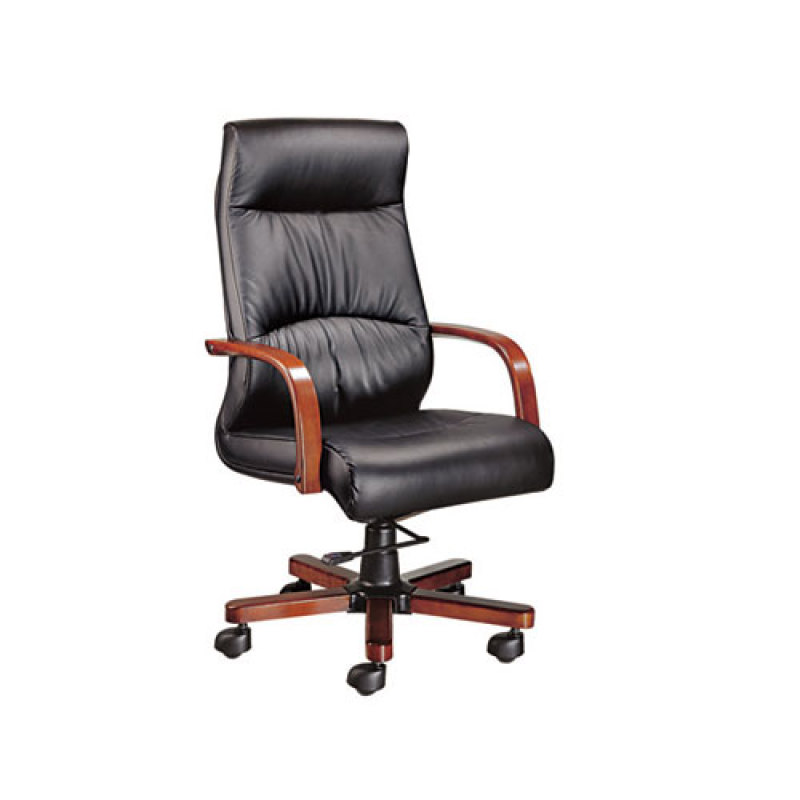Wholesale PU executive chair with central-positioned mechanism(YF-9282)