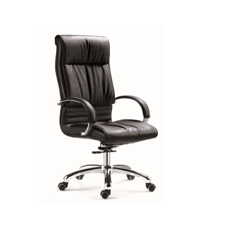 Wholesale PU Executive Chair With Chrome Base And PU Armrests(YF-9308)