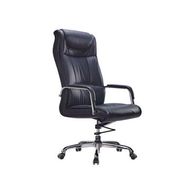 Wholesale PU Executive Chair With Chrome Base And PU Wheel(YF-9312)