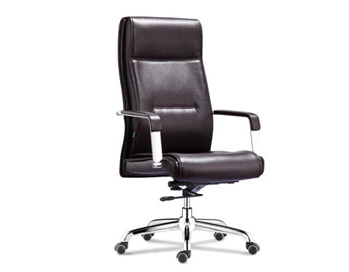 Wholesale leather swivel office chair with PP armrests(YF-9355)