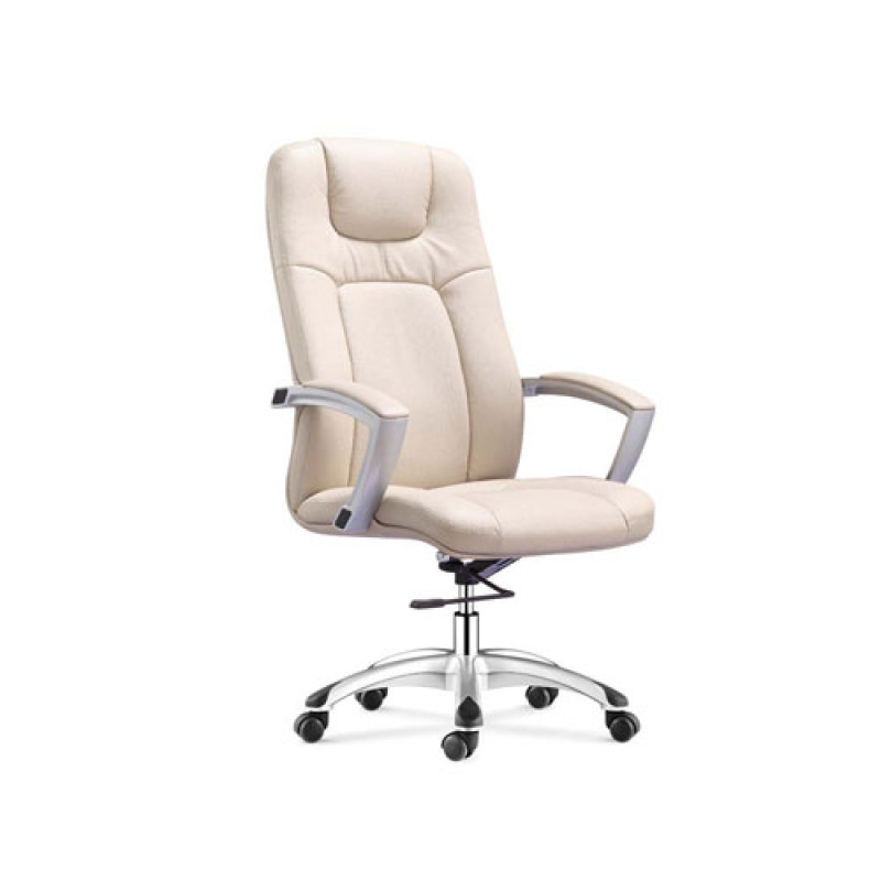 Wholesale Leather Office Chair With PP Armrests And Aluminum Base(YF-9366)