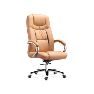 Wholesale High Back Leather Swivel Executive Chair leather furniture(YF-9375)