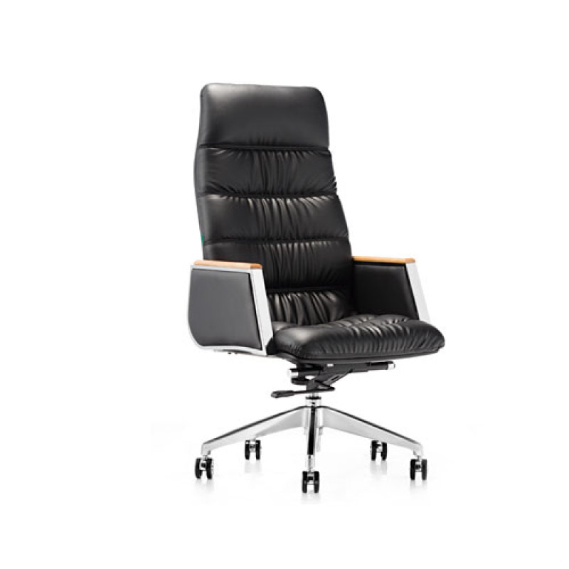 Wholesale High back leather swivel Executive chair(YF-9536)
