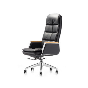 Wholesale Comfortable High Back Geniun Leather Office Executive Chair