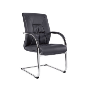 Wholesale PU Or Leather Office Conference Chair With Chrome Metal Frame(YF-V07)