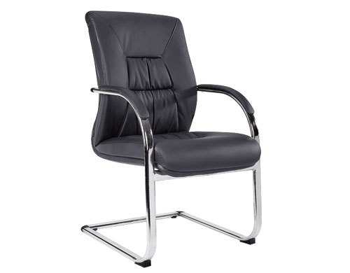 Wholesale PU&Leather Office Conference Chair With Chrome Metal Frame(YF-V07)