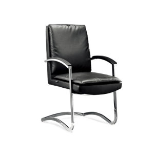 Wholesale PU or Leather Office Conference Chair with Chrome Metal Frame(YF-2640)