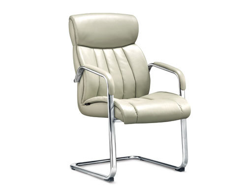 Wholesale High Back Office Visitor Chair,Nylon Armrest,Chrome Base(YF-2643)