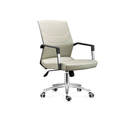 Wholesale Double colored geniun leather swiel chair leather furniture(YF-8603)