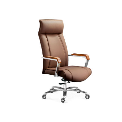 Wholesale high back yellow leather executive office chair(YF-9205A)