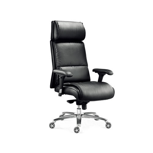 Wholesale Double colored geniun leather swiel chair leather furniture(YF-9630)