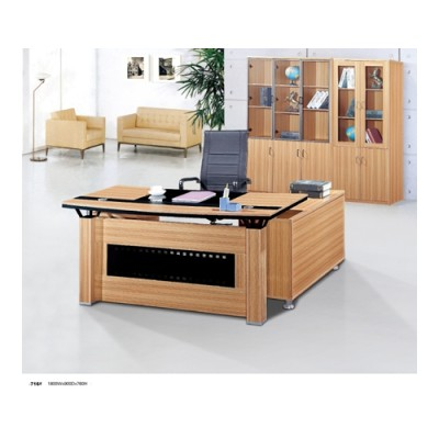 Wholesale Workstation Multi-size L Shaped Office Desk(YF-716#)