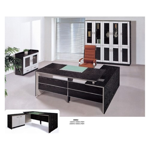 Wholesale Modern executive melamine office desk(YF-9006#)