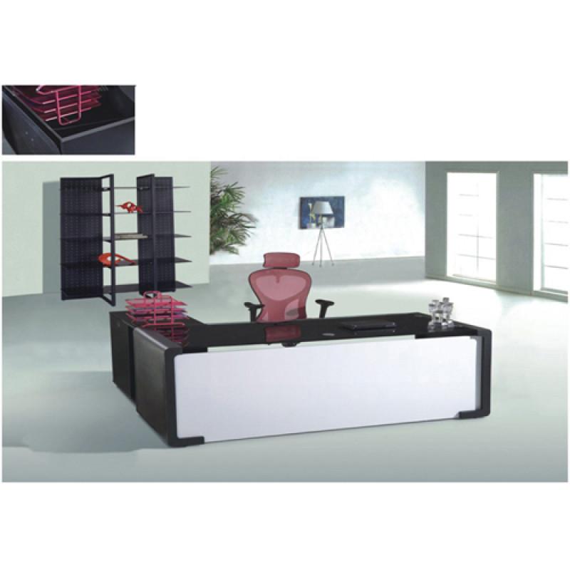 Wholesale modern minimalist excutive desk with side cabinets(YF-23063)