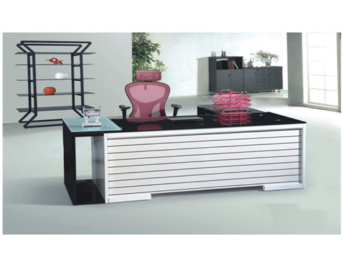 Wholesale modern minimalist excutive desk with side cabinets(YF-23070)