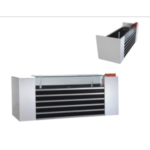 Modern Office Furniture Reception Desk & Black and White Reception Desk & Reception Table For Office