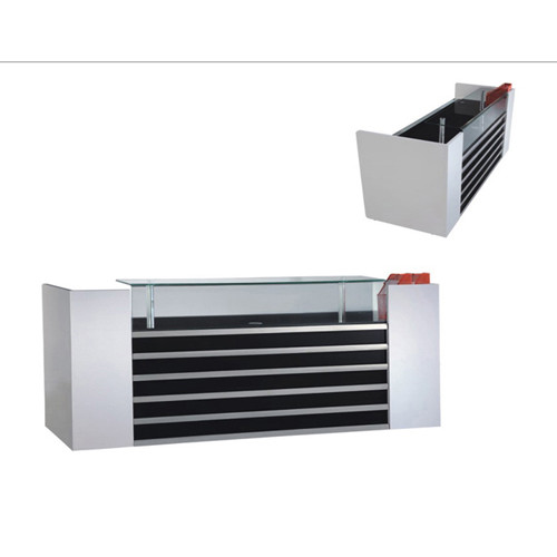 Wholesale high-quality modern office receptionist desk, color and size can be customized