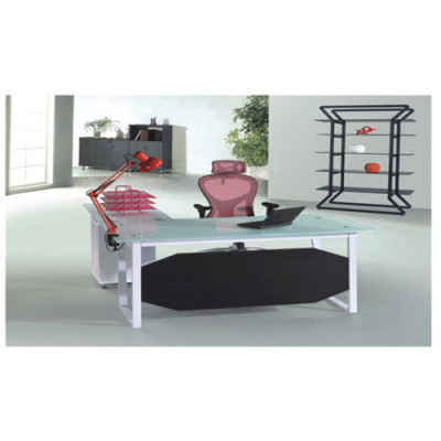 L-Shaped Offce Executive Desk & Modern Design Office Furniture Supplier & Executice Table With Chair