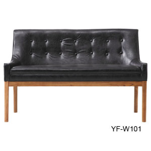 Classical Banquet Seating & Hotel Lobby Sofa Chair & 2 Person Leather Banquet Chair Wholesale