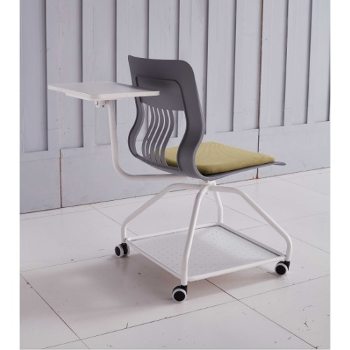 Modern Office Training Chair & Training Room Chair & Training Chair with Castor and Writing Board