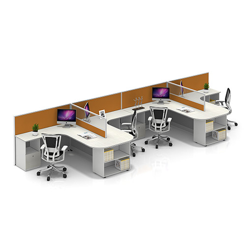 China Office Furniture Wholesale & Modular Office Workstation Desks & Modern Style Design Customized