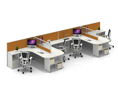 China Office Furniture Wholesale & Modular Office Workstation Desks & Modern Style Design Customized