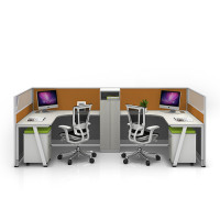 Modern Office Workstation Desk With Multi-size and Color Customized