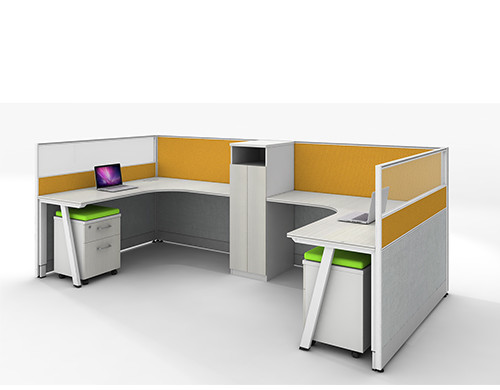 China Office Furniture Wholesale & Modern Office Workstation Desks & Multi-size and Color Customized