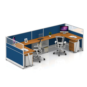 Modern Office Workstation Desks and Chairs with Office Screen & China Office Furniture Wholesale