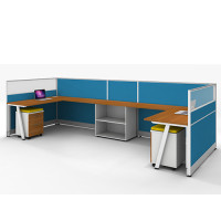 Wholesale Modern Office Workstation Desks And Chairs With Office Screen(YF-JM(60)-JM+P-1202)