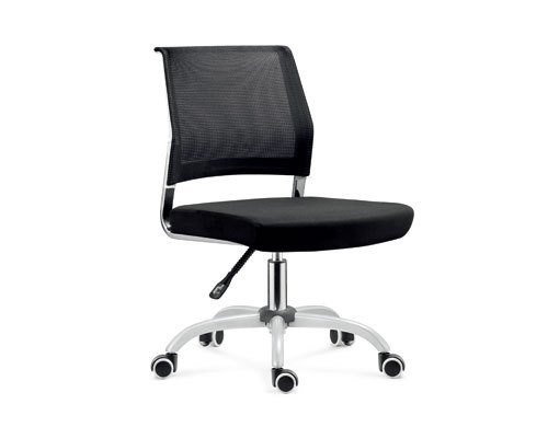 Wholesale Mesh office task chair with chrome base and without armrests(YF-5617-1)