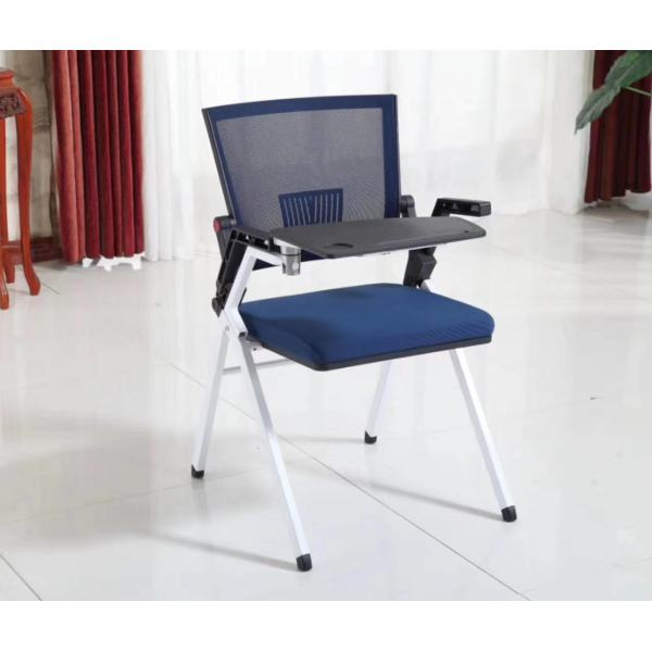 YingFung Folding Chair with talent design, with armrest and writing board(YF-K1-D)