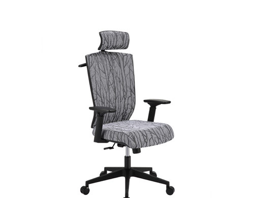 Wholesale Office task chair with PP back frame, chrome base and armrest(YF-5603A)