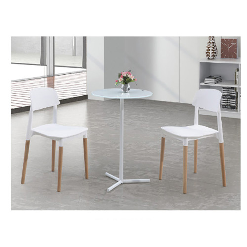 Yingfung Tea Table with powder coating and 8mm tempered glass (YF-17010T-A)