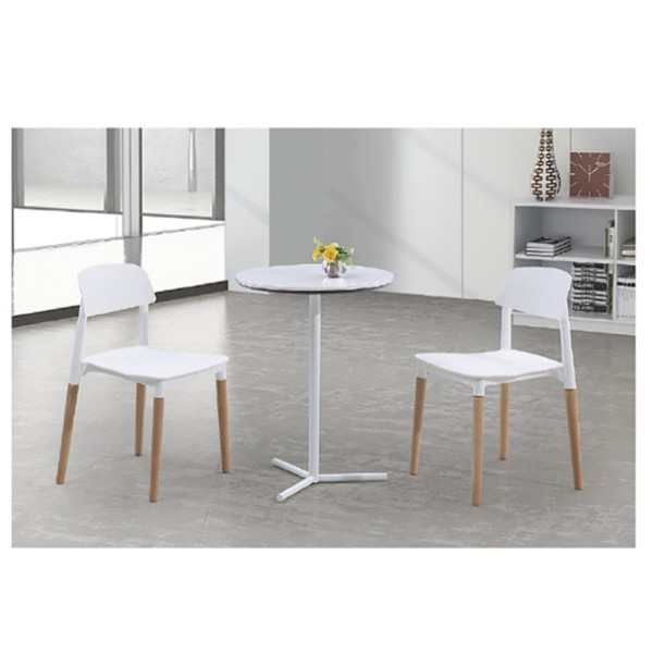 Yingfung Tea Table with powder coating and 8mm tempered glass (YF-17010T-B)