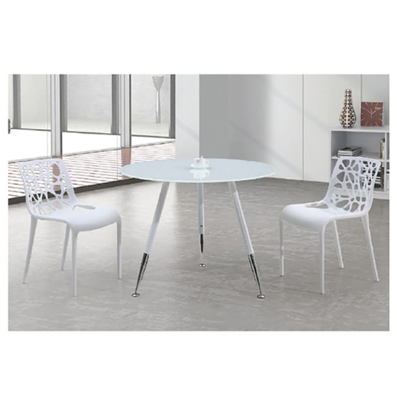 Yingfung Tea Table with powder coating and 8mm tempered glass Metal(YF-16021T)