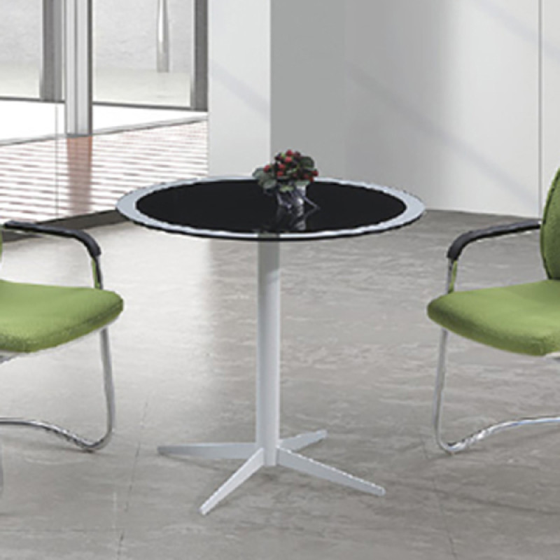 Yingfung Tea Table with powder coating and 8mm tempered glass Metal(YF-17002T)