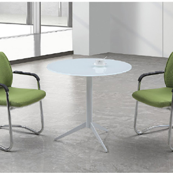 Yingfung Tea Table with powder coating and 8mm tempered glass Metal(YF-17003T)