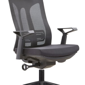 Height Adjustable Green Mesh Office Executive Chair with Headrest and Castor Base (TL-A30-2)