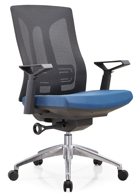 Height Adjustable Green Mesh Office Executive Chair with Headrest and Castor Base (TL-B30-2)