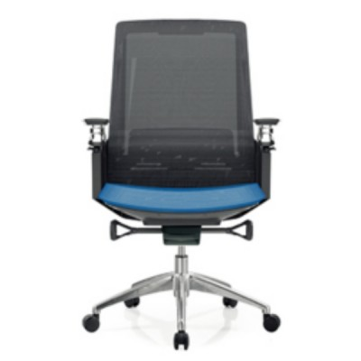 Y&F Middle Back Mesh Executive Chair with aluminum base and  aluminum armrest(YF-B33)