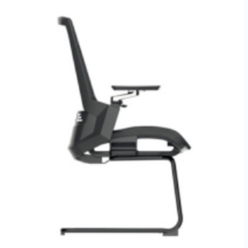Y&F Mid-Back Office Conference Chair with Lumbar Support, 4D Aluminum Alloy Armrest.(YF-D33)