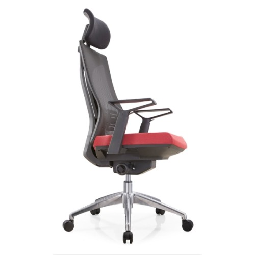 Y&F High Back Mesh Executive Chair with alumnium base and nylon height adjustable armrest (YF-A30-2)