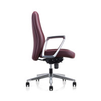 Y&F PU Leather Office Executive Chair with Aluminum Alloy Armrest and Base(YF-623-135)
