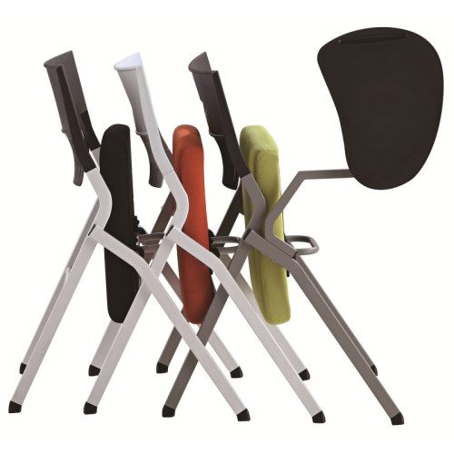 Modern Office Foldable Training Chair, Aluminum Tablet With PP, Without Armrest (LY-K0-D)