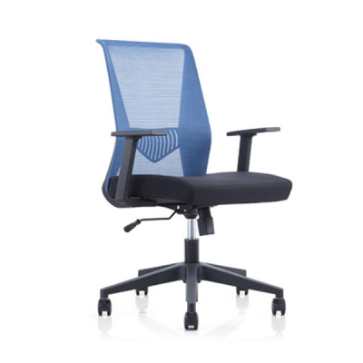 Mid Back Mesh Office Swivel Chair with PP Armrest and Nylon Base (YF-6630B-119)