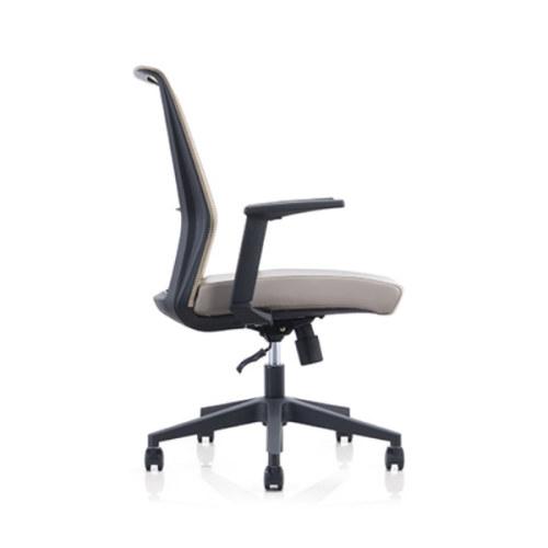 Mid Back Mesh Office Swivel Chair with PP Armrest and Nylon Base (YF-6630B-118)