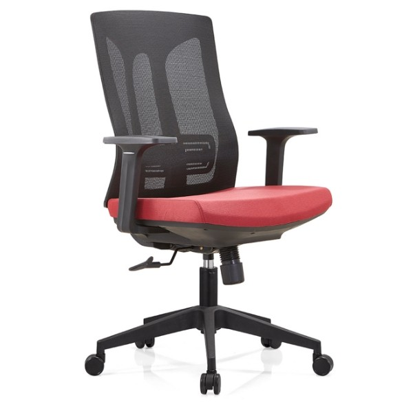 Y&F Middle Back Office Mesh Task Chair with Nylon Base and PP Armrest(YF-B30-1)