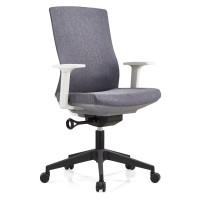 Middle Back Office Task Chair with Aluminum/Nylon Base and PP Armrest(YF-B30)