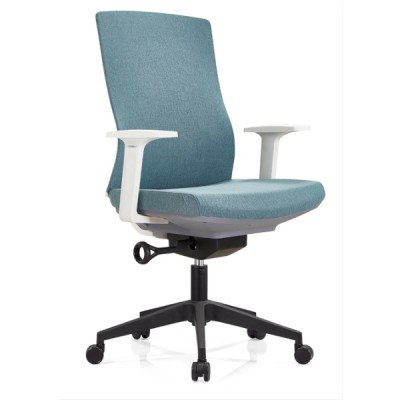 Middle Back Office Task Chair with Aluminum/Nylon Base and PP Armrest(YF-B30)